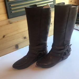 Gianni Bini brown rider tall boot